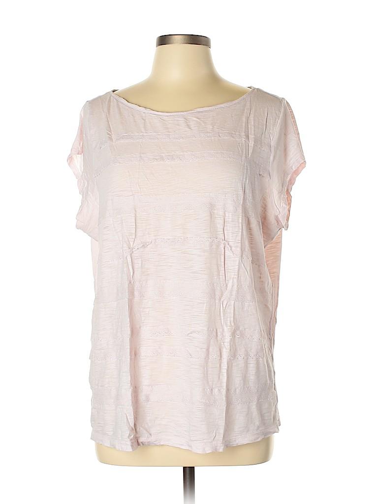 Ann Taylor LOFT Women Short Sleeve Top Size XL