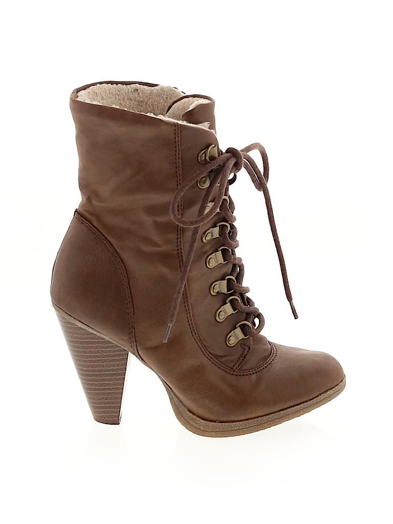 Elle Women Ankle Boots Size 6