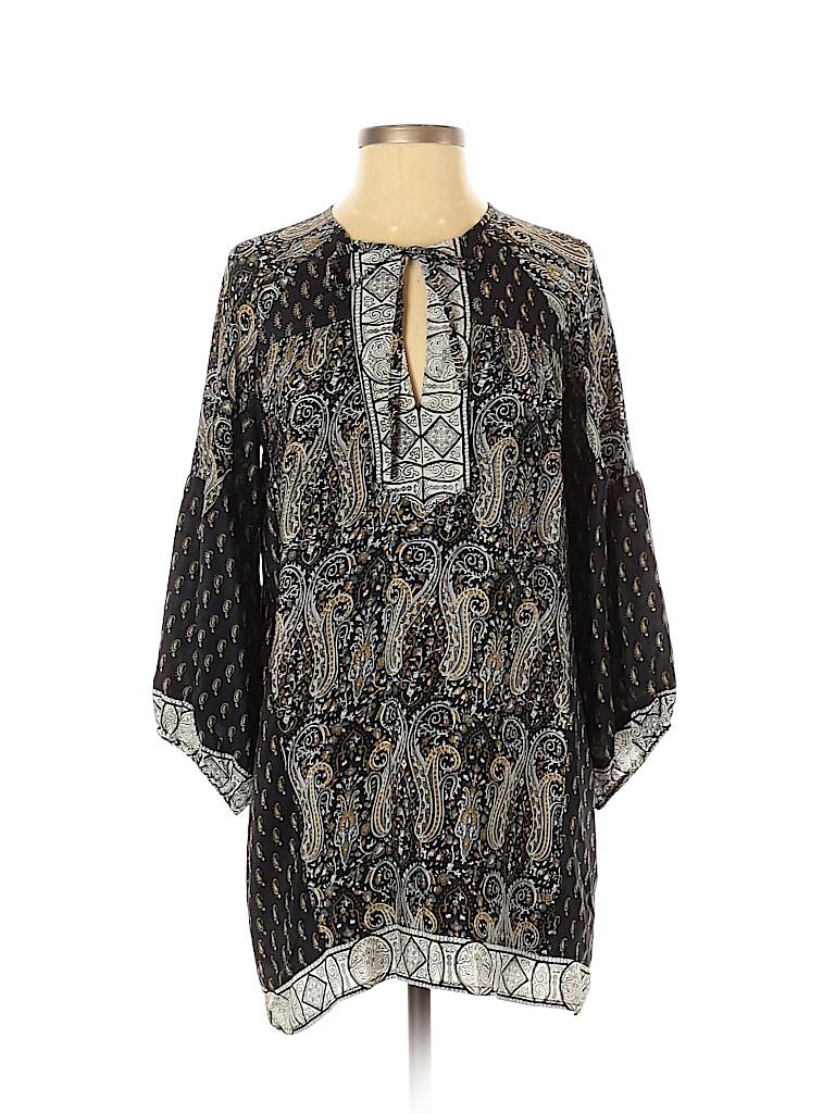 Tolani Women 3/4 Sleeve Silk Top Size XS