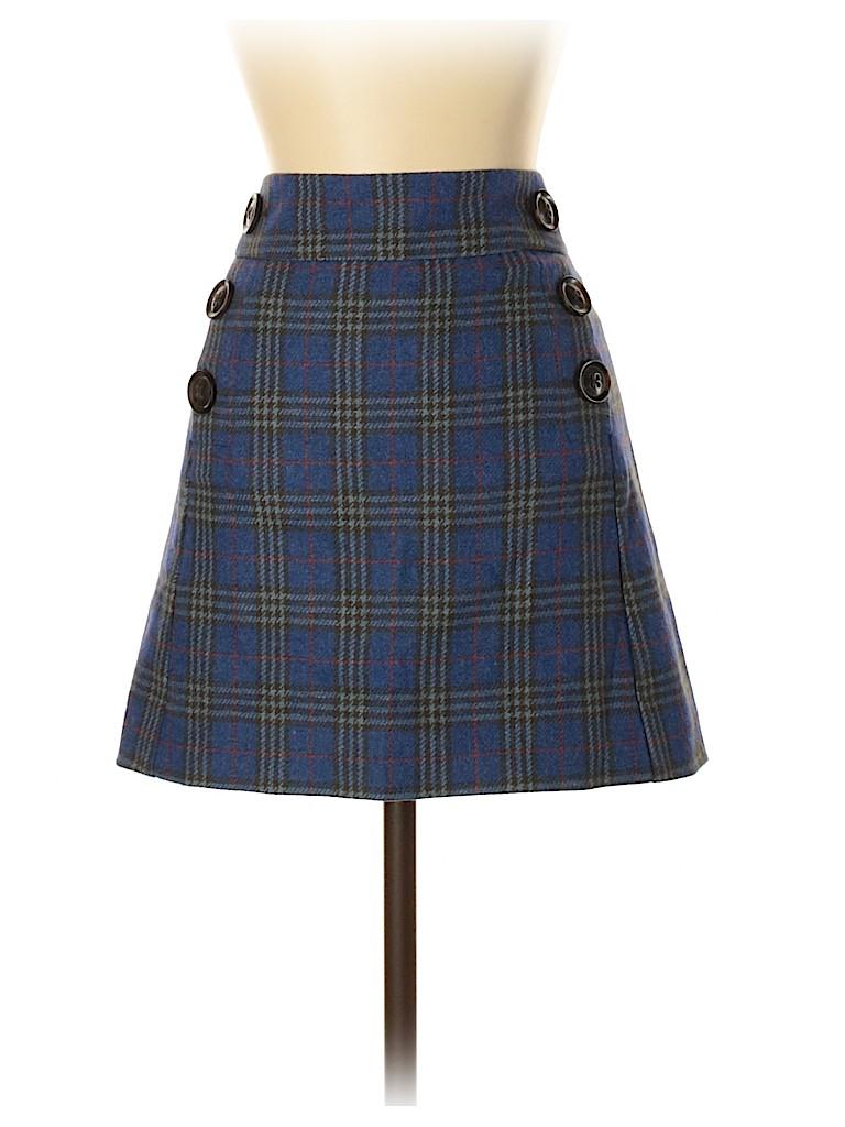 Gap Women Wool Skirt Size 2