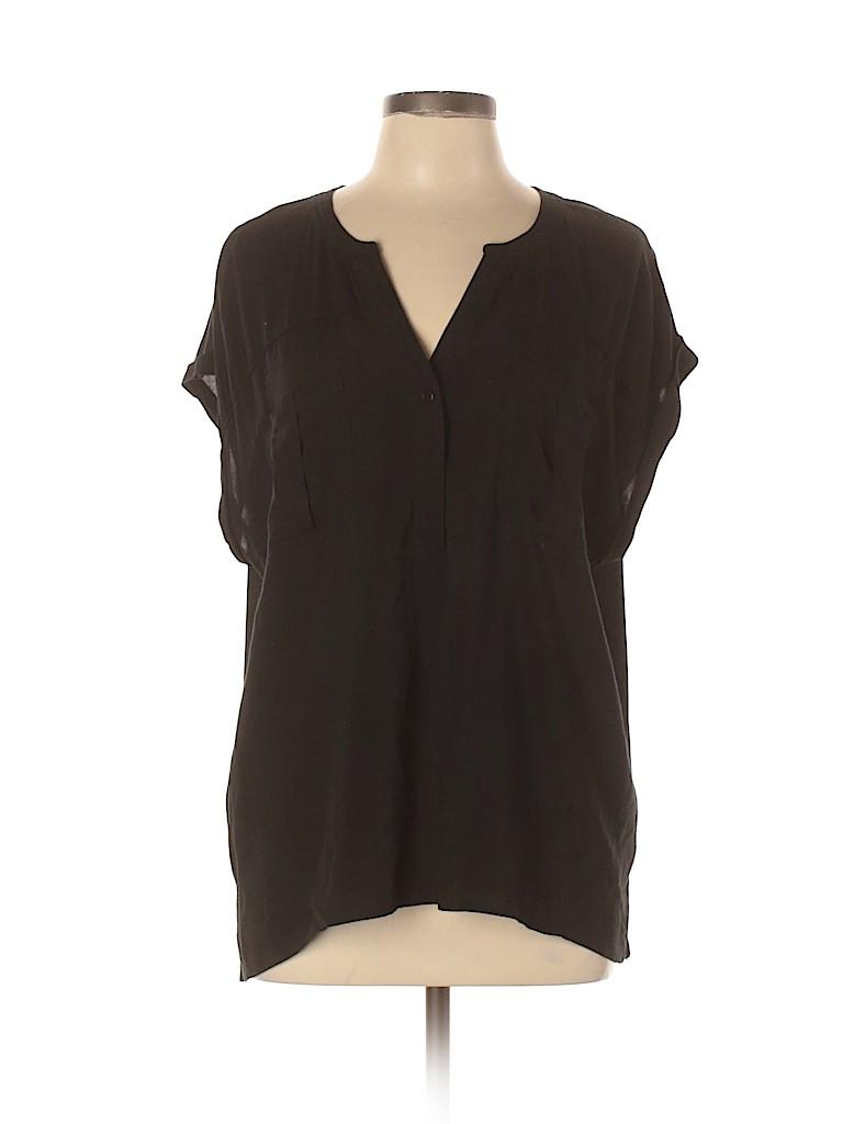 Merona Women Short Sleeve Blouse Size XXL