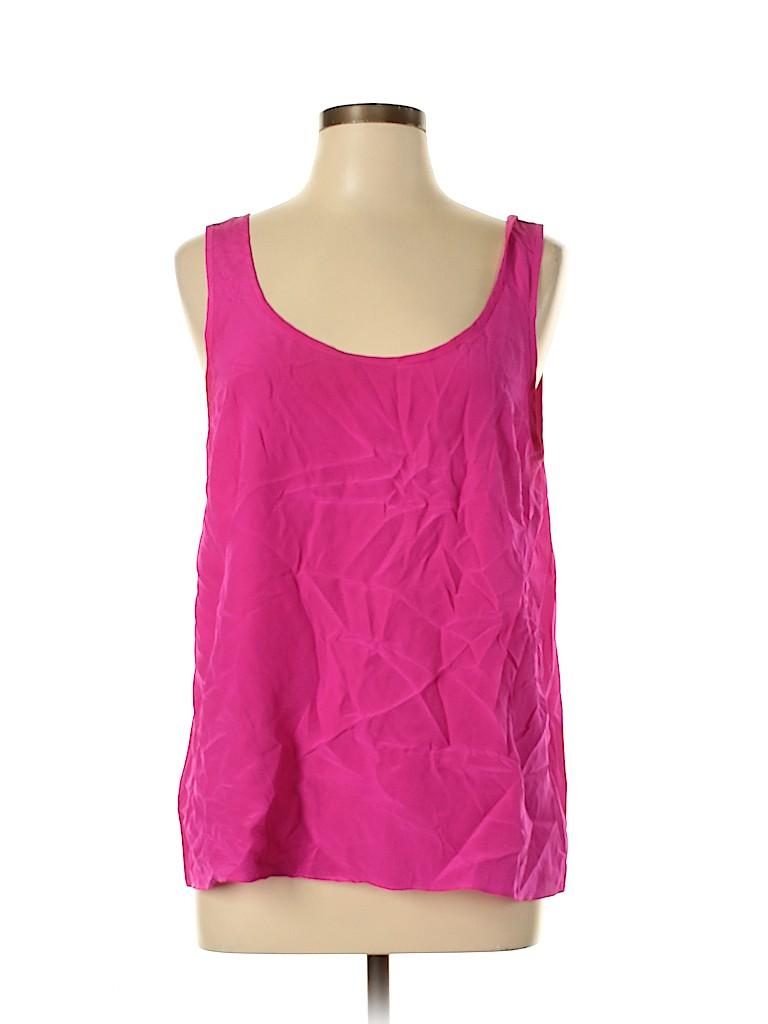 Lilly Pulitzer Women Sleeveless Silk Top Size L