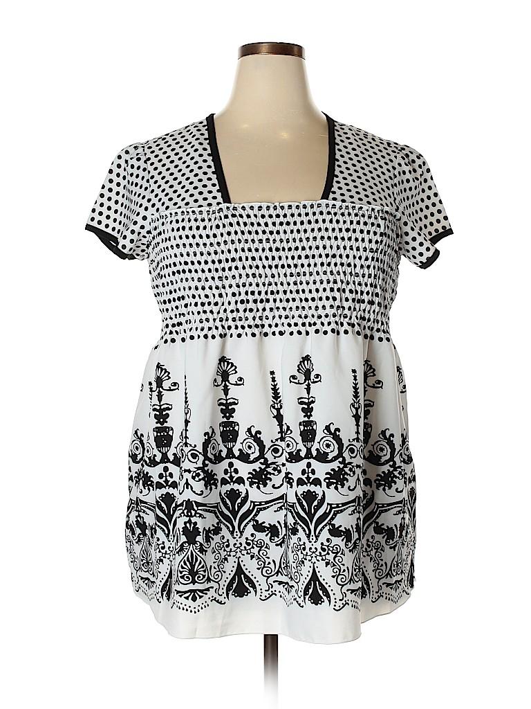 Cato Women Short Sleeve Blouse Size 18 - 20 (Plus)