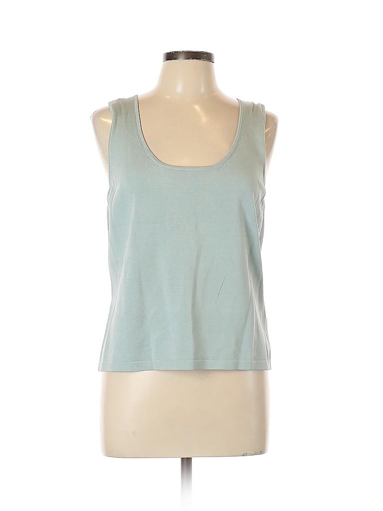 Linda Allard Ellen Tracy Women Sleeveless Silk Top Size 0X (Plus)
