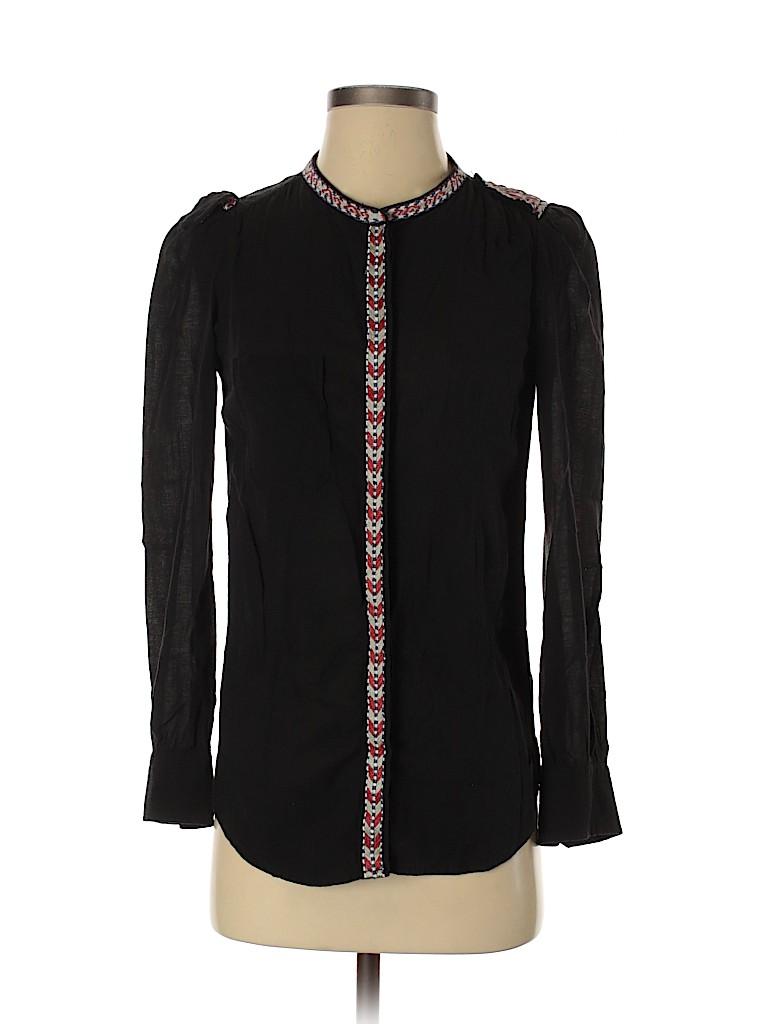 Étoile Isabel Marant Women Long Sleeve Blouse Size 36 (FR)