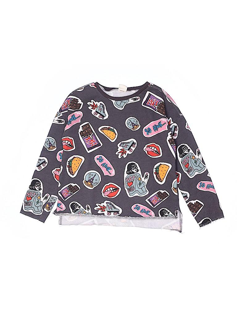 Zara Kids Girls Long Sleeve T-Shirt Size 10