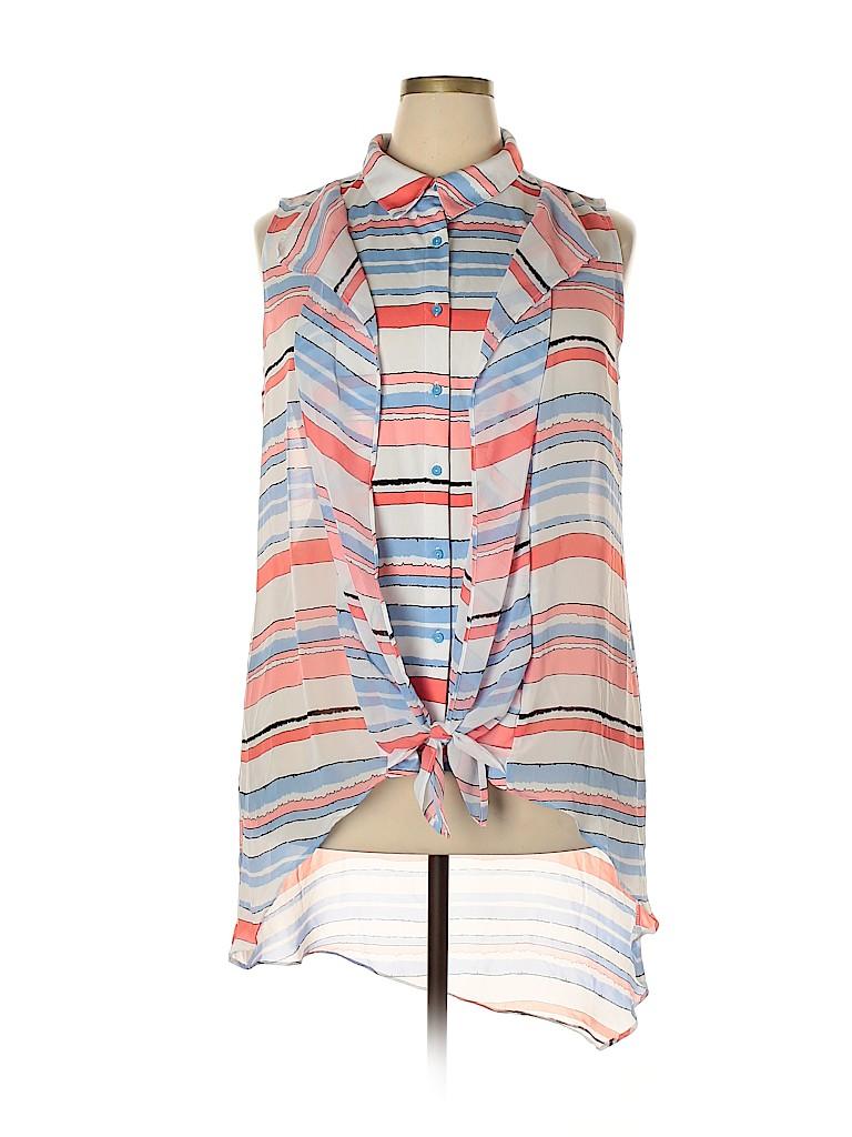 NY Collection Women Sleeveless Blouse Size 2X (Plus)