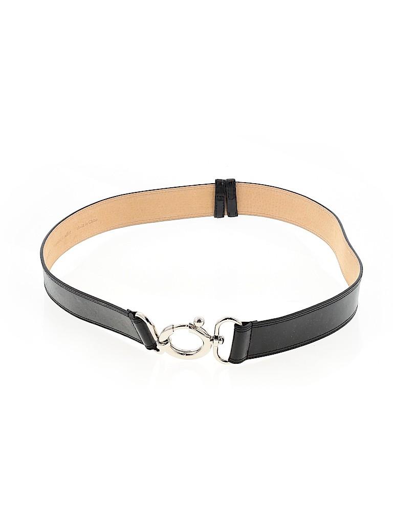 Ellen Tracy Women Leather Belt Size S