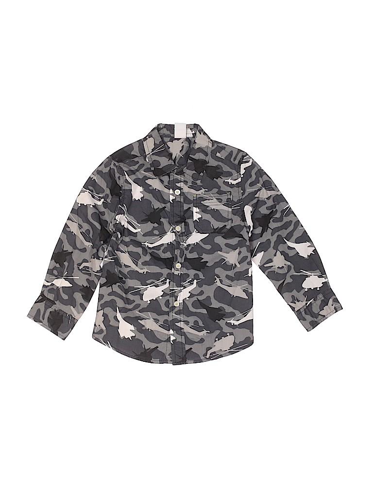 Healthtex Boys Long Sleeve Button-Down Shirt Size 5T