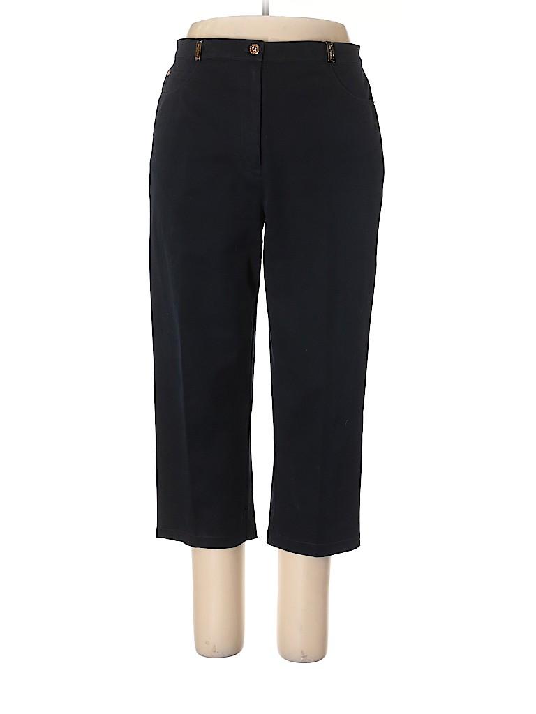 St. John Sport Women Khakis Size 14