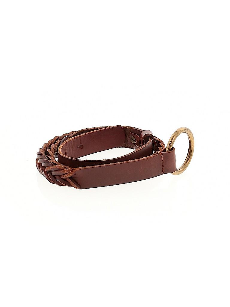Gap Women Leather Belt Size XS