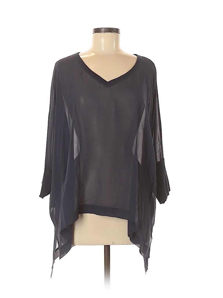 Eileen Fisher Women 3/4 Sleeve Blouse Size L