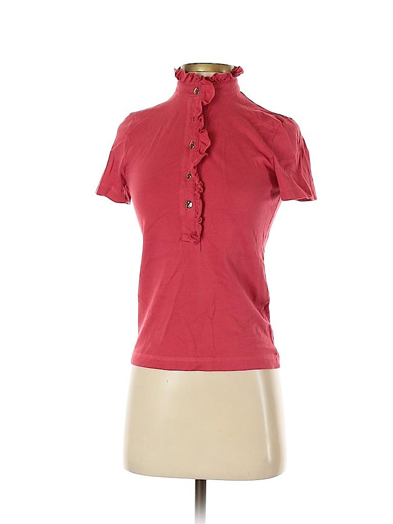Tory Burch Women Short Sleeve Polo Size XS