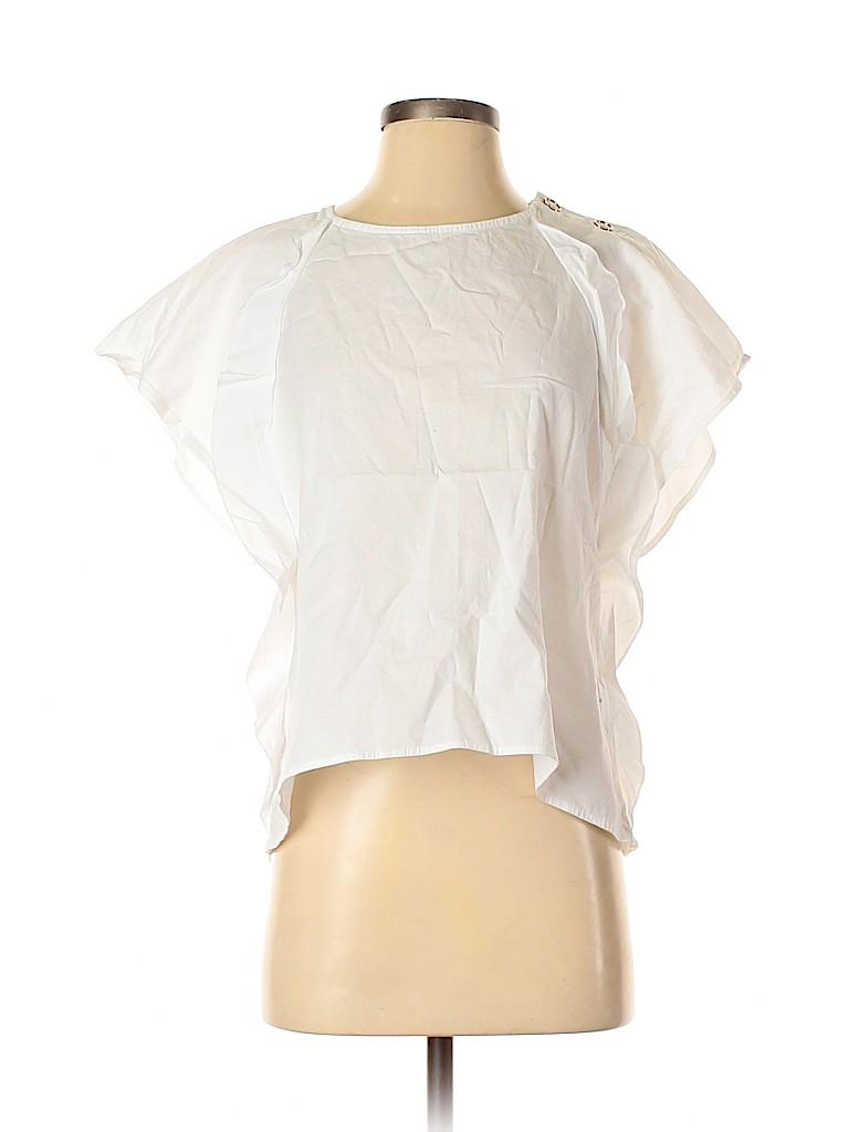 Karlie Women Short Sleeve Blouse Size S