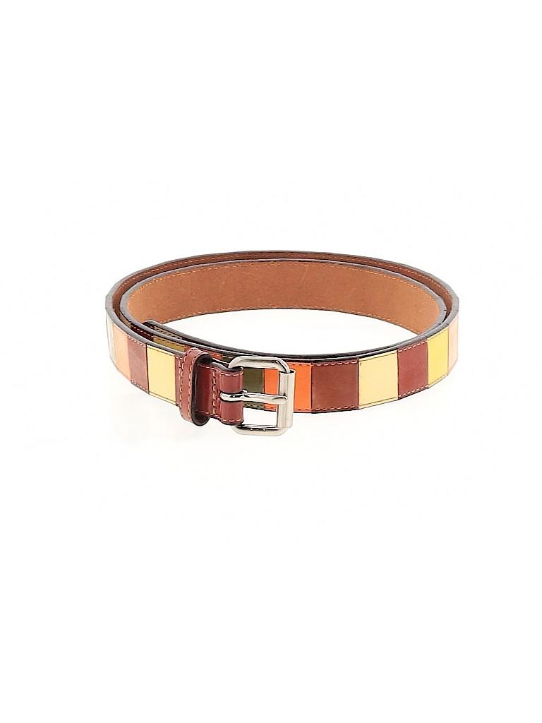 Club Monaco Women Leather Belt Size L