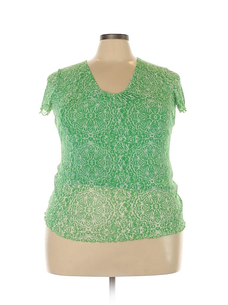 Lizwear by Liz Claiborne Women Short Sleeve Top Size XL