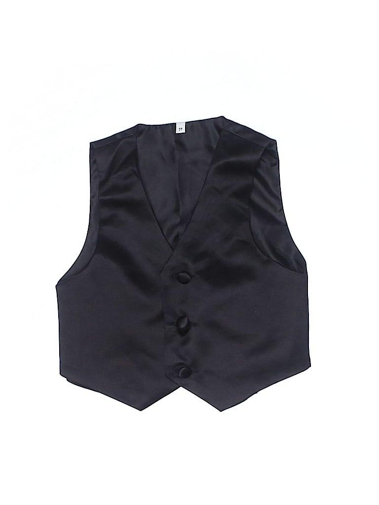 Unbranded Boys Tuxedo Vest Size 2T