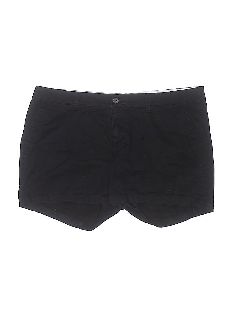 Old Navy Women Khaki Shorts Size 18 (Plus)