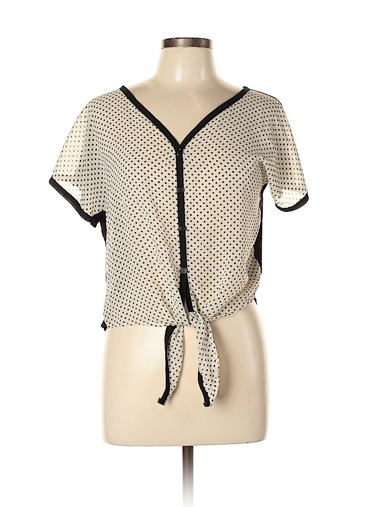 Rue21 Women Short Sleeve Blouse Size XL