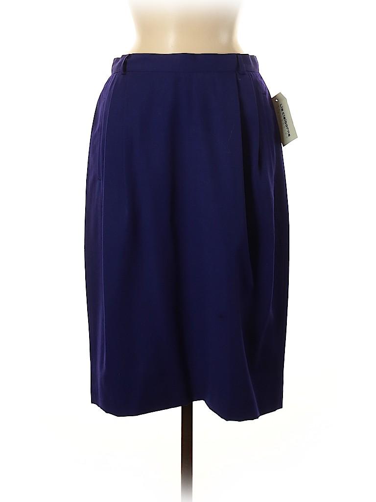 Liz Claiborne Women Wool Skirt Size 12