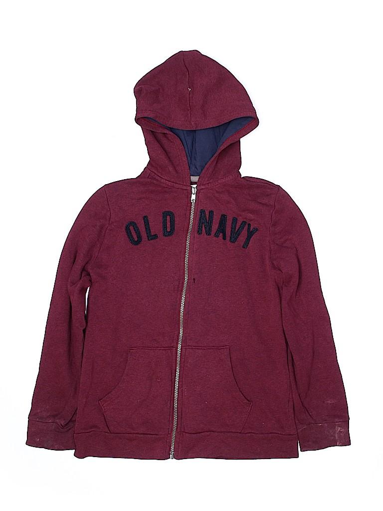 Old Navy Boys Zip Up Hoodie Size 10 - 12