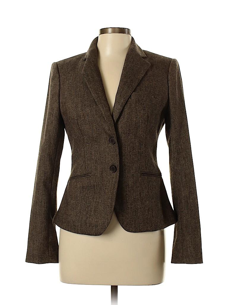 Body By Victoria Women Wool Blazer Size 10