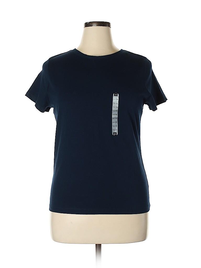 Mossimo Women Short Sleeve T-Shirt Size 16 - 18