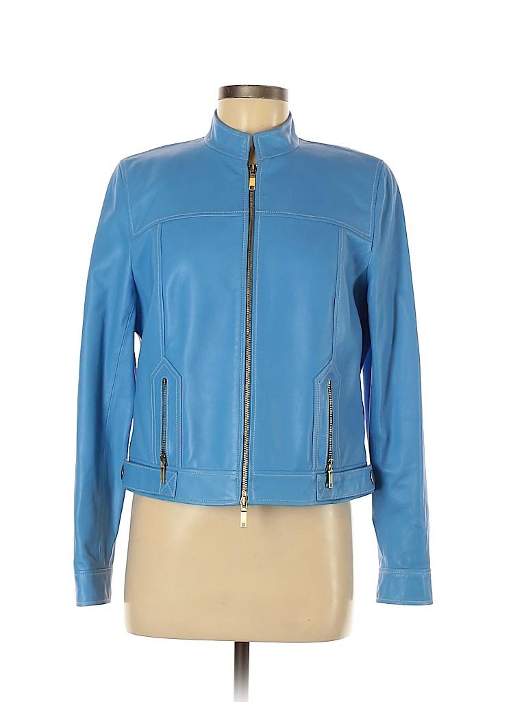 Carlisle Women Leather Jacket Size 8