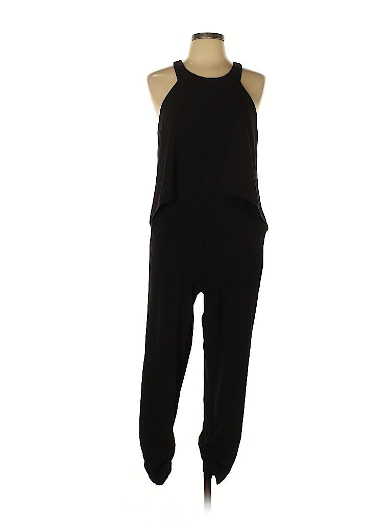 Red Saks Fifth Avenue Women Jumpsuit Size L