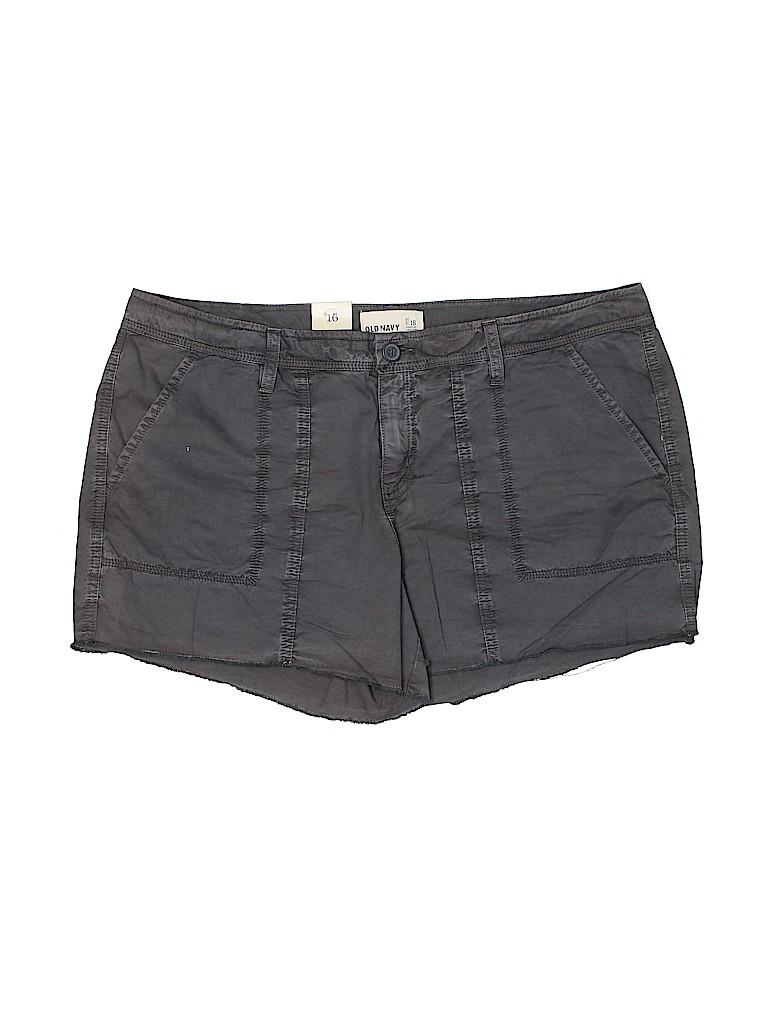 Old Navy Women Khaki Shorts Size 16