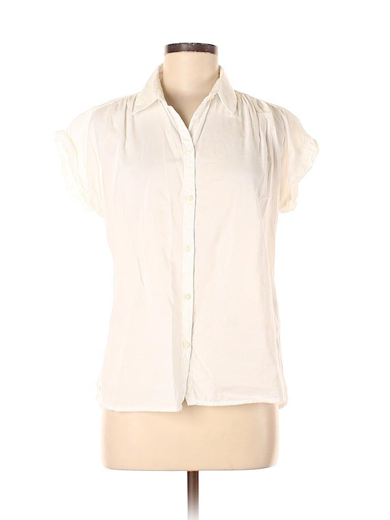 Old Navy Women Short Sleeve Blouse Size M
