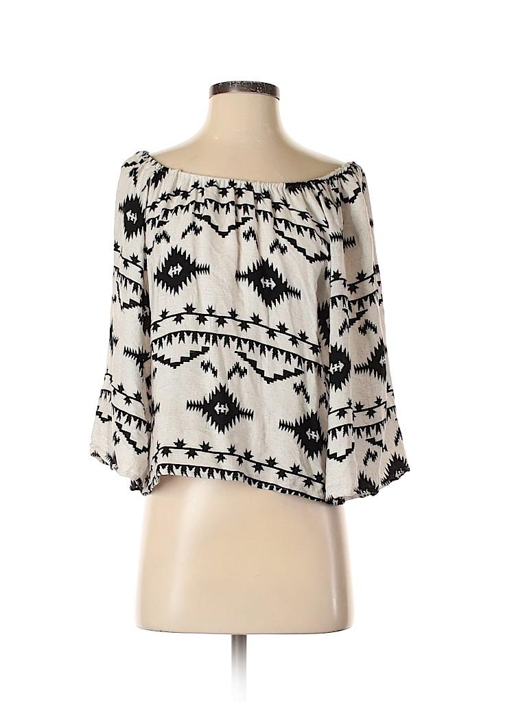 BB Dakota Women 3/4 Sleeve Blouse Size XS