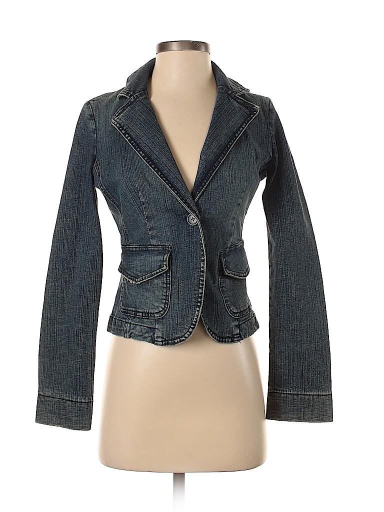 Assorted Brands Women Denim Jacket Size S