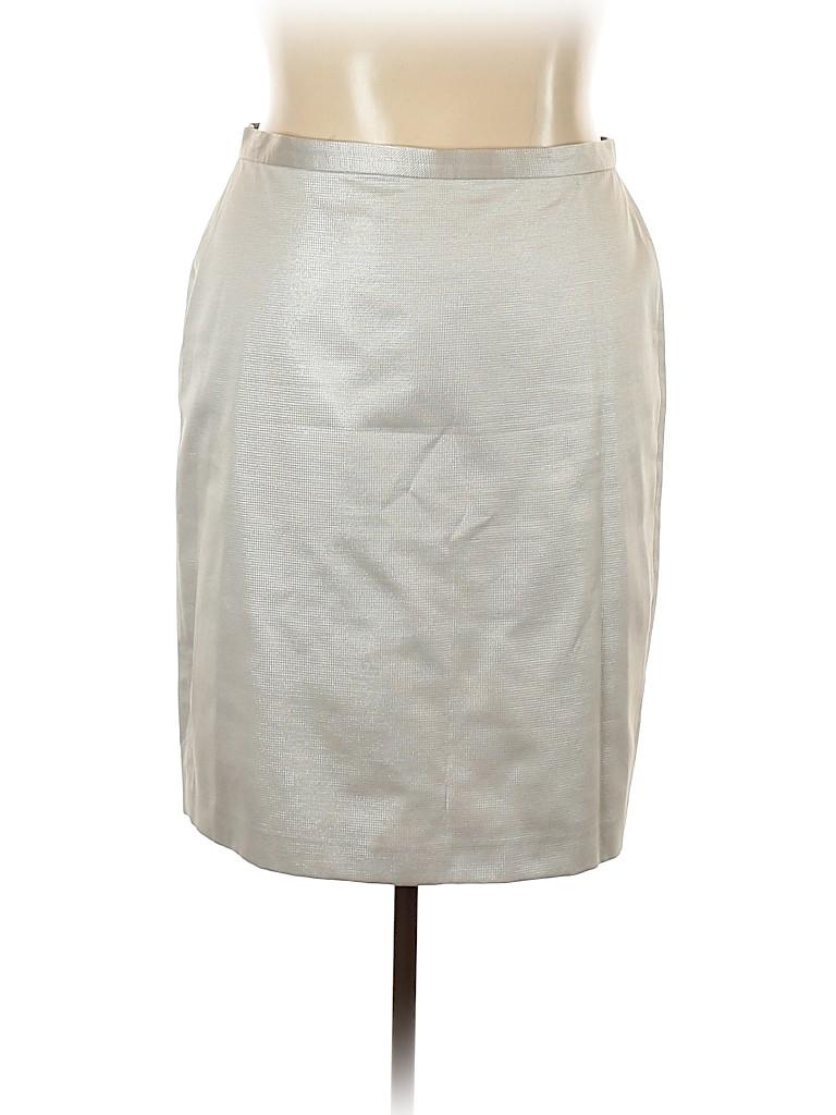 Albert Nipon Women Casual Skirt Size 18 (Plus)