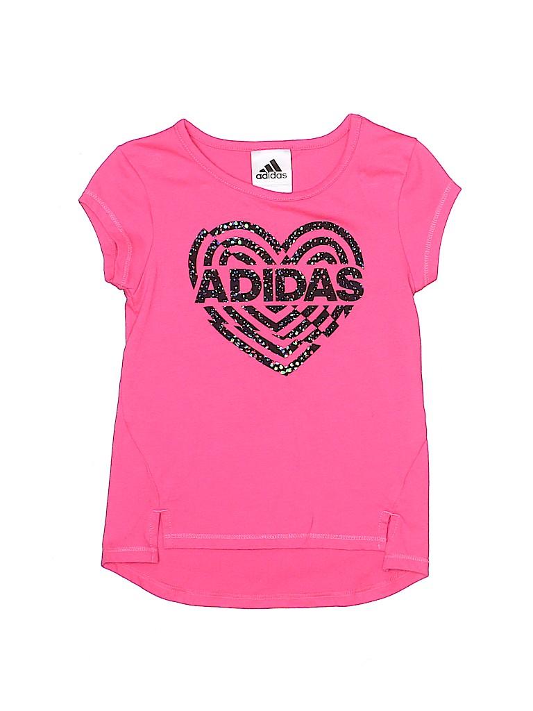 Adidas Girls Short Sleeve Top Size 3T