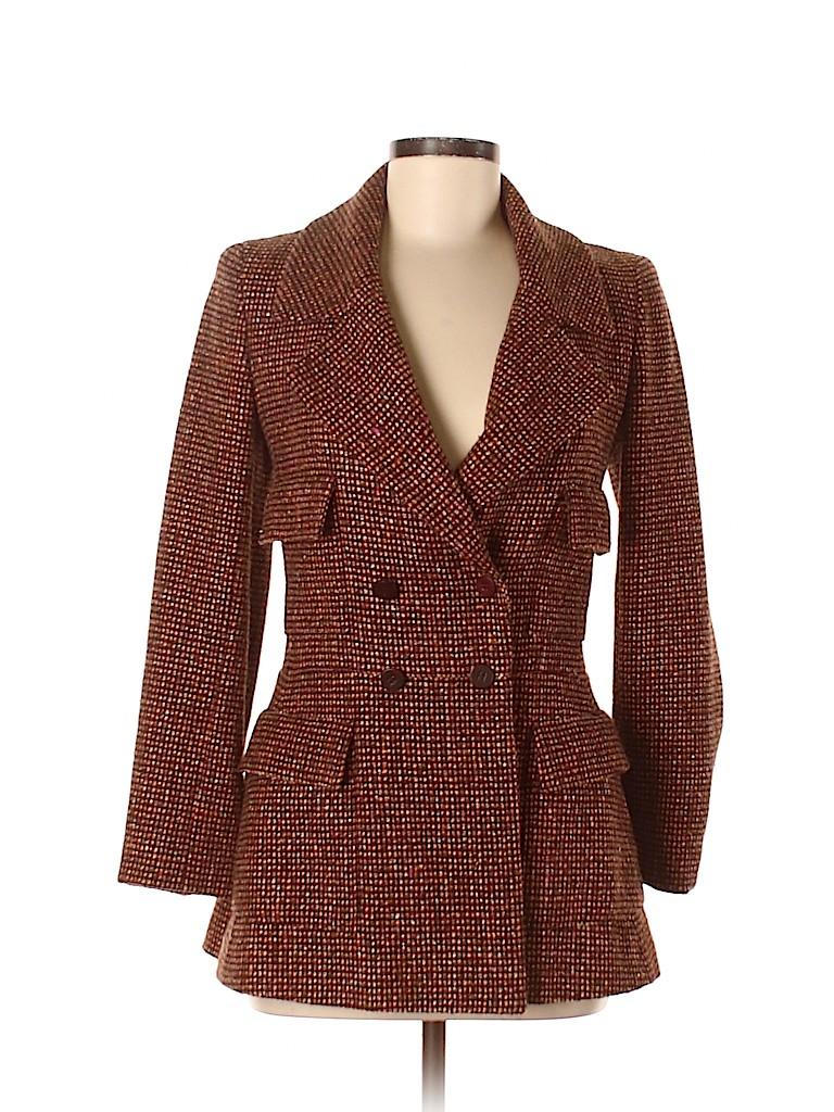 Chanel Women Wool Blazer Size 34 (EU)