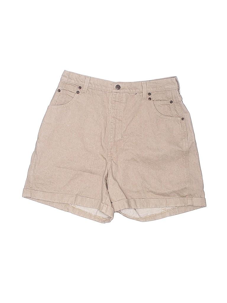 St. John's Bay Plus Women Denim Shorts Size 16 (Plus)
