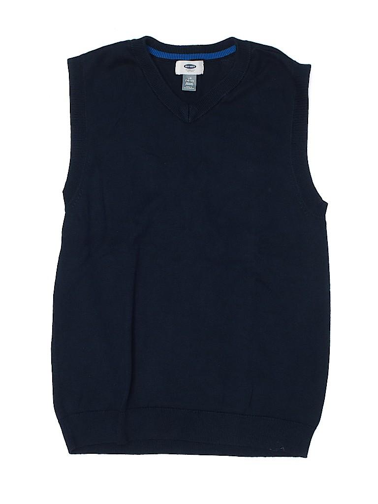 Old Navy Boys Sweater Vest Size 10