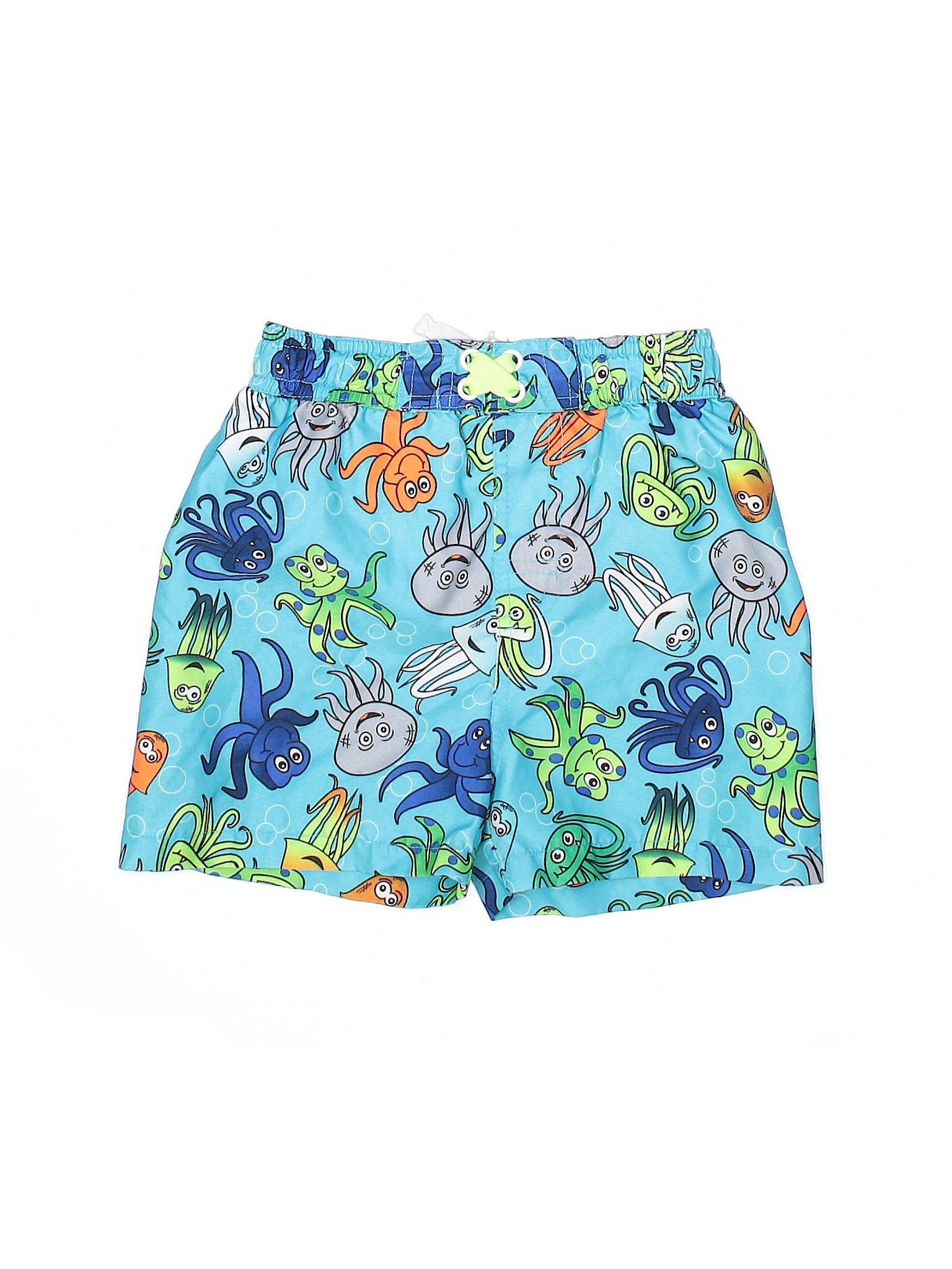 NEW Toddler  Mick and Mack LTD boys swim trunks board shorts 4 T UPF 50