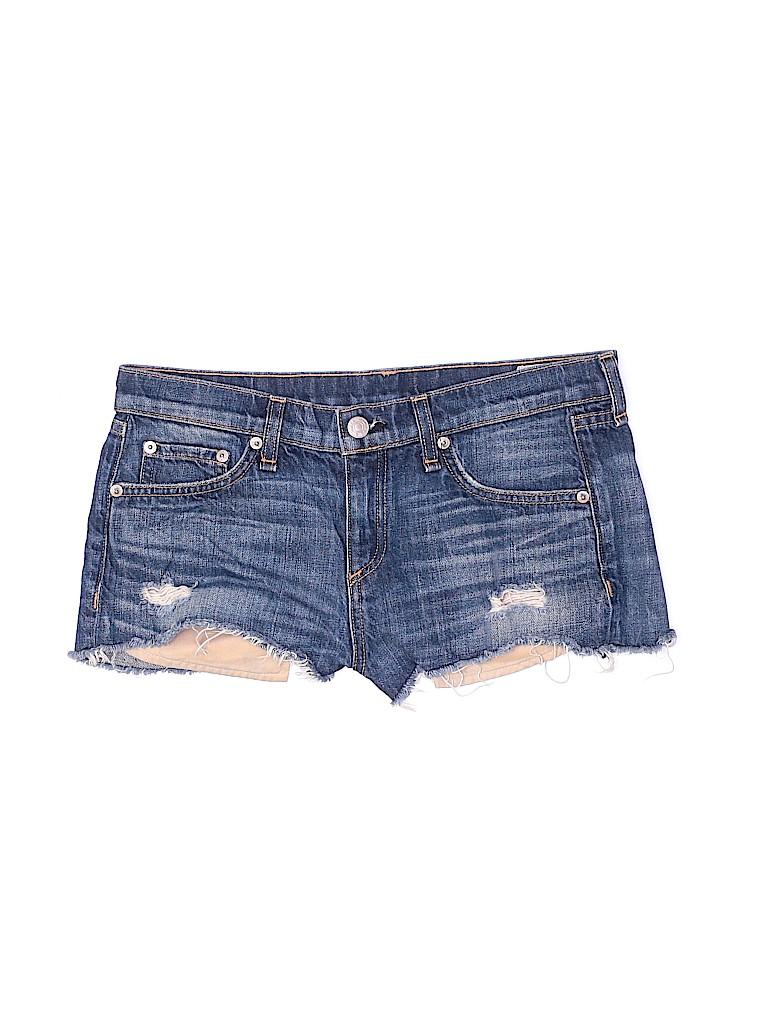Rag & Bone Women Denim Shorts 26 Waist