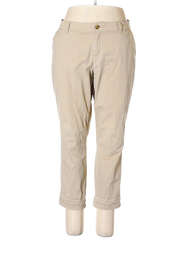 Old Navy Women Khakis Size 18 (Plus)