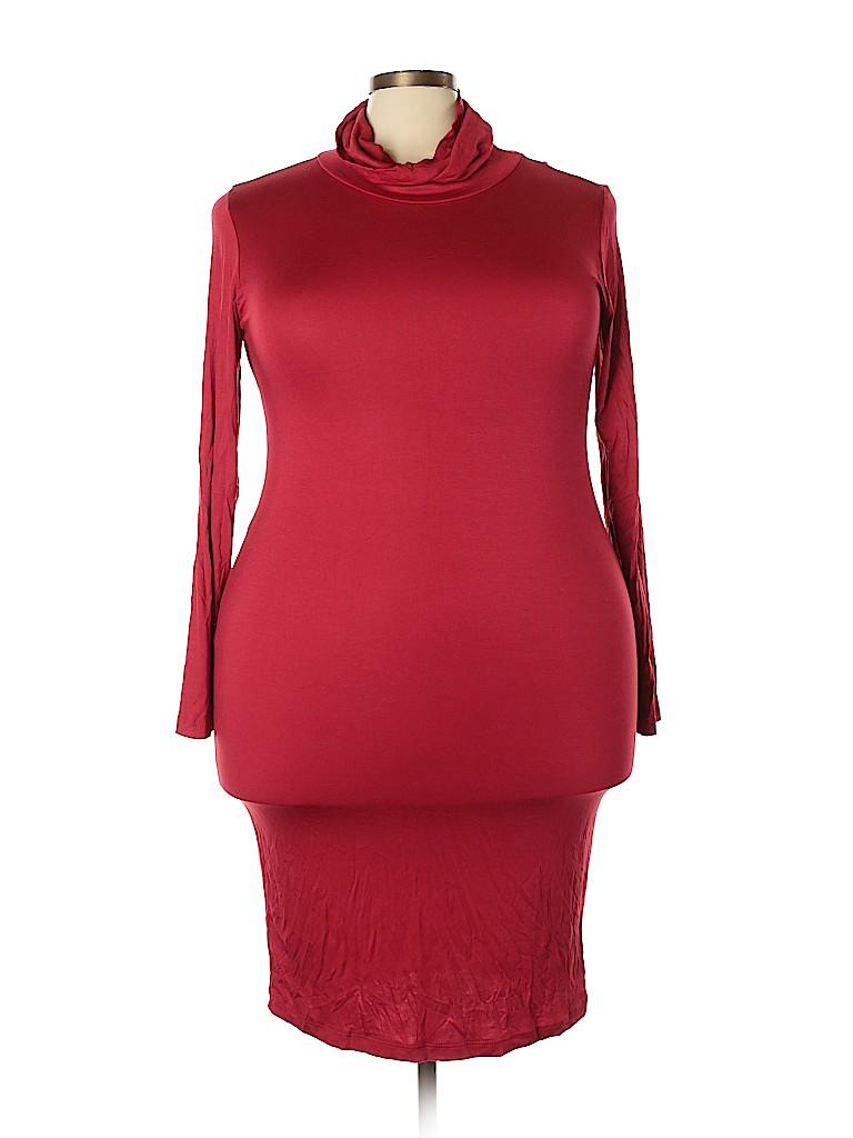 Assorted Brands Women Casual Dress Size 3X (Plus)