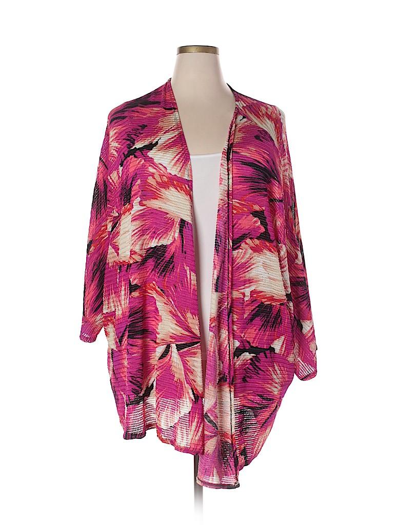 Catherines Women Cardigan Size 5X (Plus)