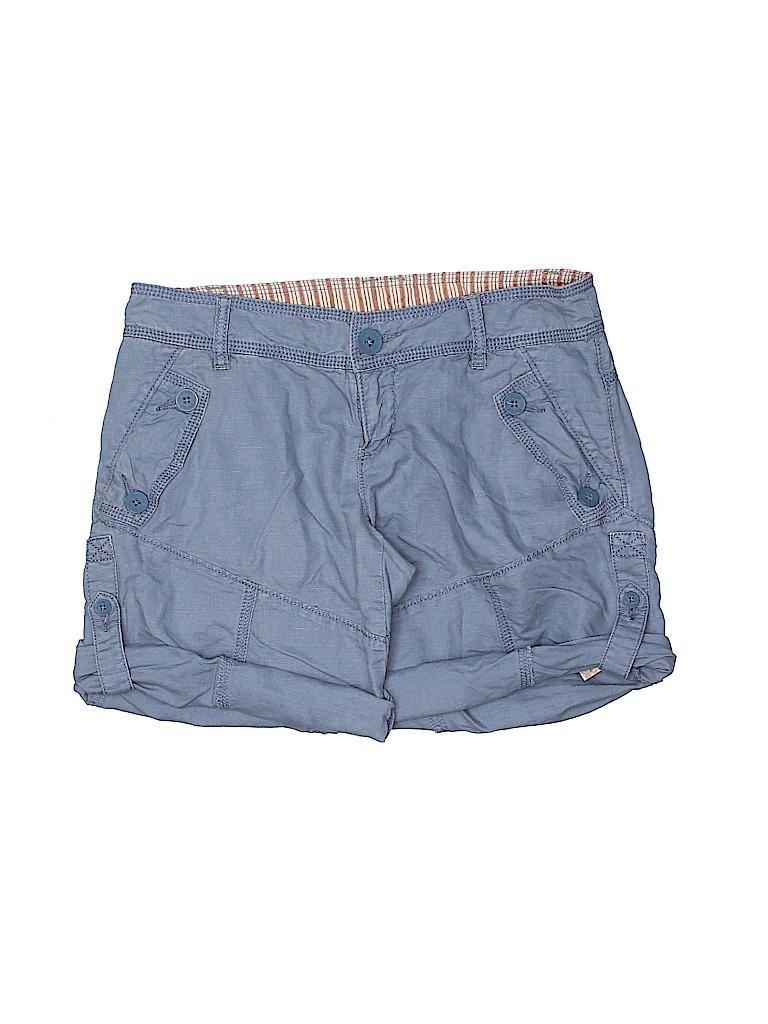 Free People Women Khaki Shorts Size 2