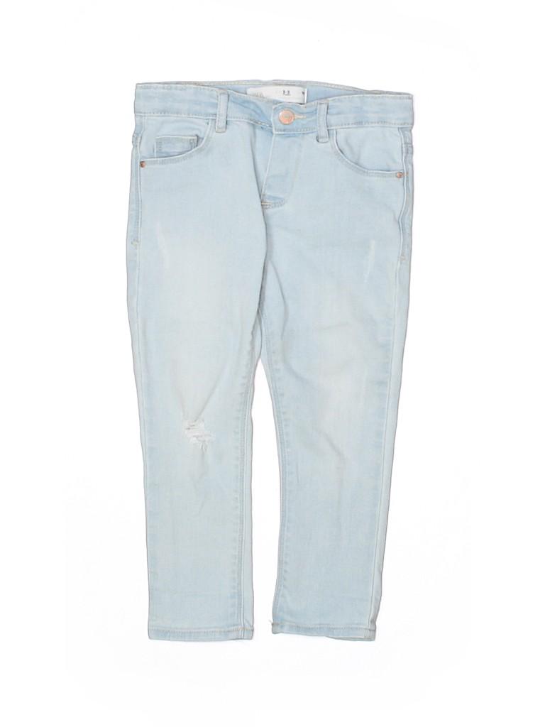 Zara Baby Girls Jeans Size 2 - 3