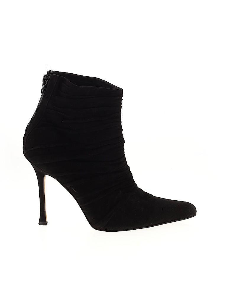 Manolo Blahnik Women Ankle Boots Size 40.5 (EU)