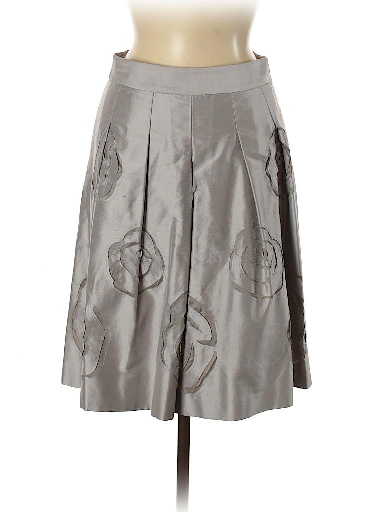 INC International Concepts Women Silk Skirt Size 6