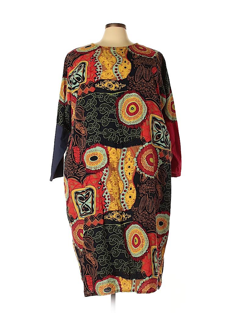 Zanzea Collection Women Casual Dress Size 5X (Plus)