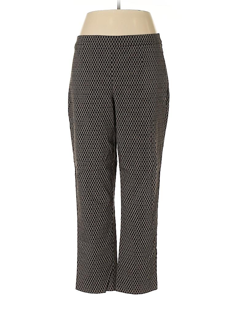 Dana Buchman Women Casual Pants Size XL