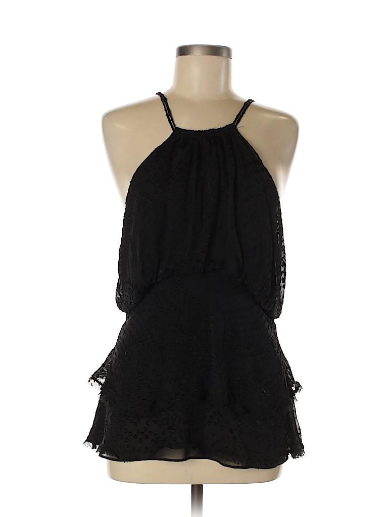 BCBGMAXAZRIA Women Sleeveless Silk Top Size M